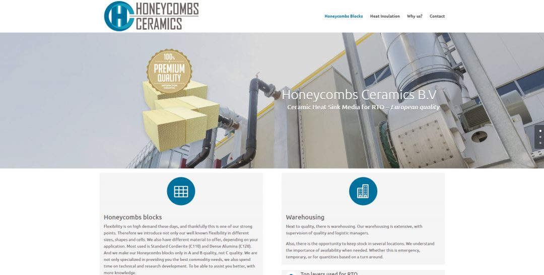 Honeycombs Ceramics