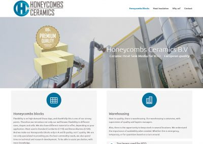Honeycombs Ceramics